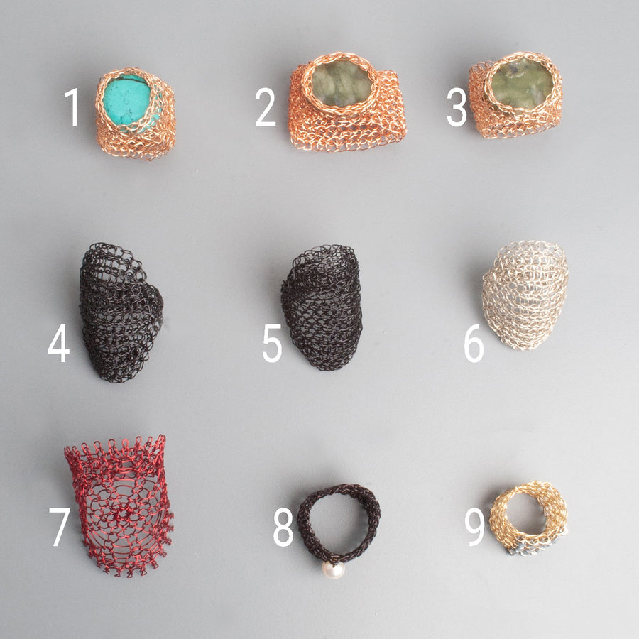Statement rings - Sample SALE - Yooladesign