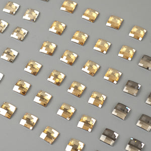 Swarovski crystals 12mm chessboard flat back lot clearance - Yooladesign