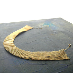 Cleopatra Necklace PDF Tutorial , how to wire crochet a Cleopatra necklace - Yooladesign