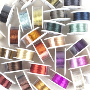 Premium Craft Wire,  jewelry wire,  Extra long spools - Yooladesign