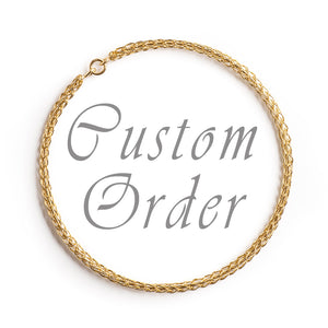 Custom order for Shelly - Yooladesign