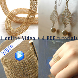 Glamorous DIY Tutorials Combo, Video and PDF tutorials. Make your Own Jewelry! - Yooladesign