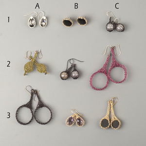 Earrings Sample sale 2 - 24$ each - Yooladesign