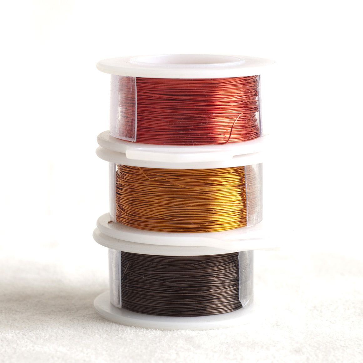 Color wire, artistic wire for wire crochet - EARTH E2, E4, C6 - Yooladesign