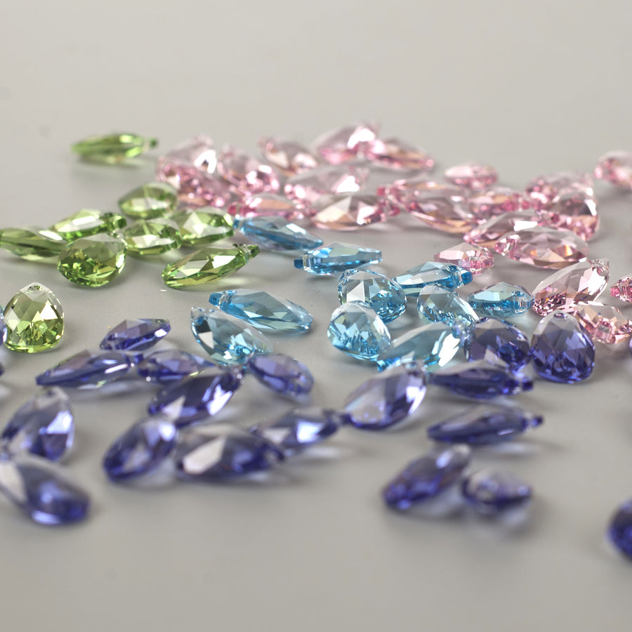 SOLD -  Swarovski crystals in drop shape - Yooladesign