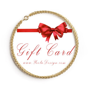 Yoola Gift Card- Holiday gift certificate - Yooladesign