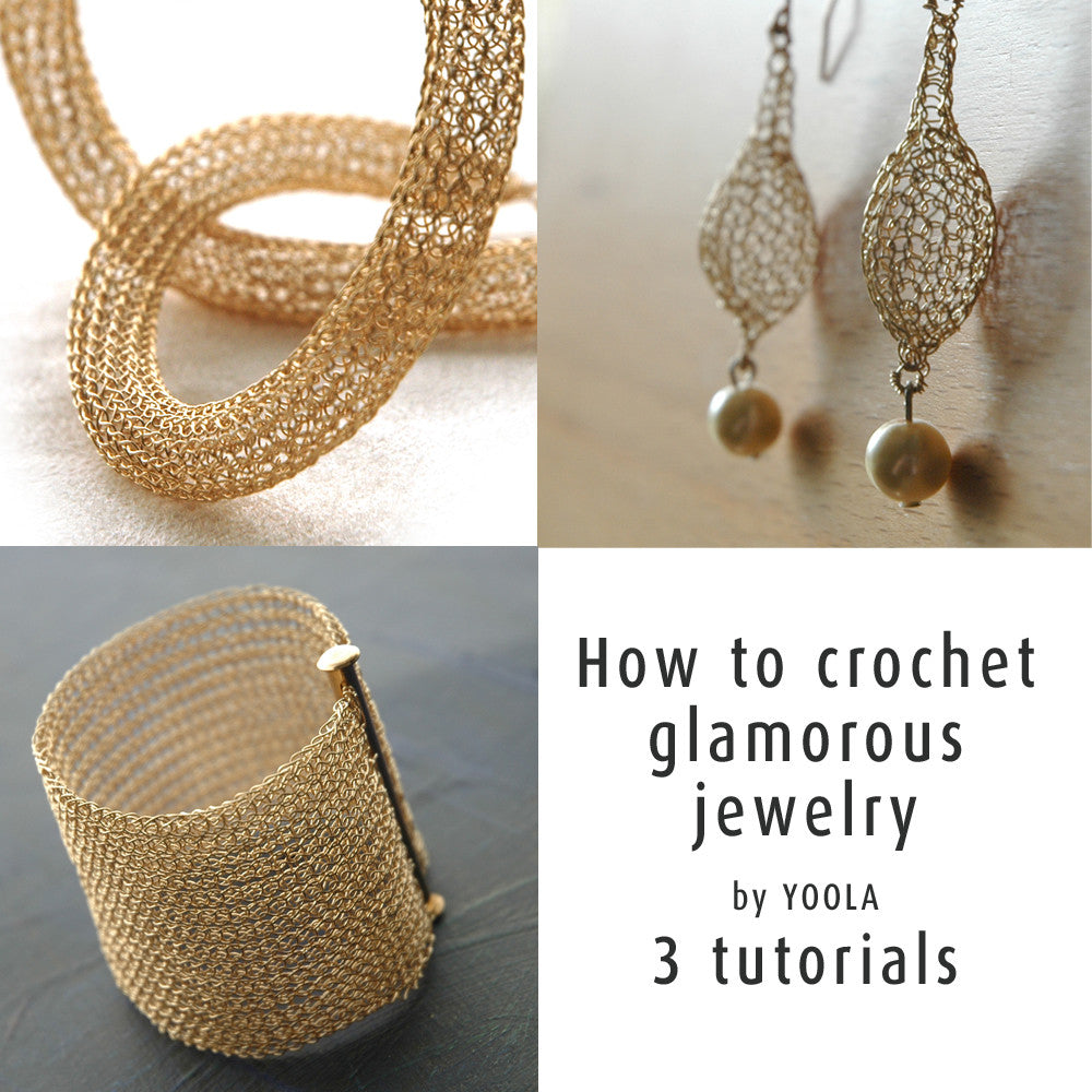 3 glamorous jewelry tutorials - Yooladesign