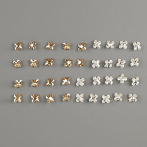 Swarovski 4784 crystals - Greek cross  - CLEARANCE - Yooladesign