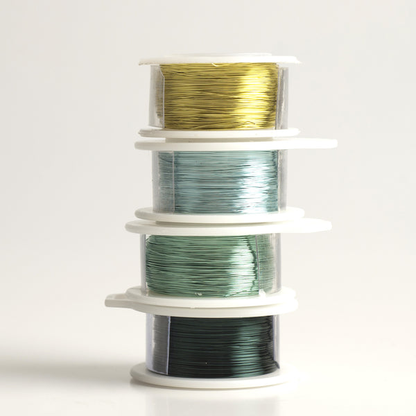 Spring 2017 Craft Wire-  Extra long 4 spools, 120 feet each