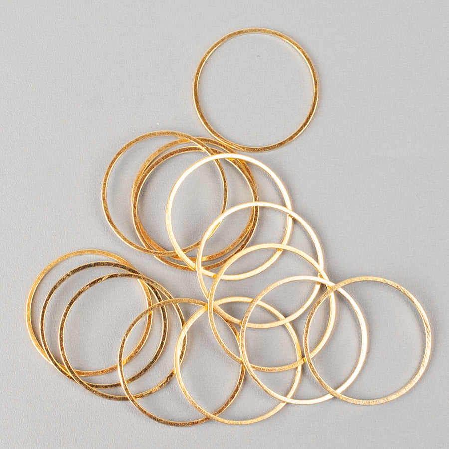 Metal rings - findings - Yooladesign