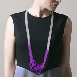 Long cloud necklace - Yooladesign