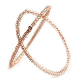 rose gold filled bangles