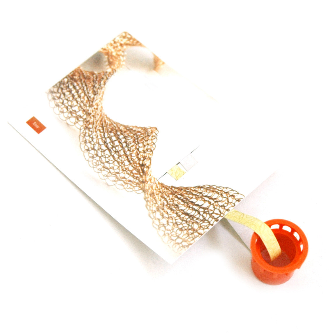 Small wire crochet loom , ISK tool , wire crochet small frame ...