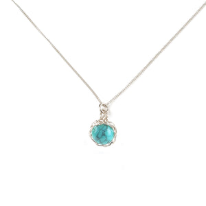SMALL Turquoise necklace - Yooladesign