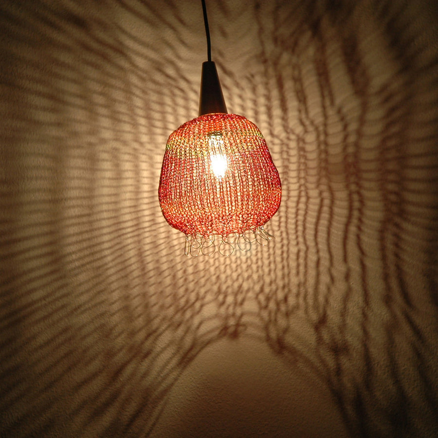 Oriental Atmosphere Wire Crochet Handmade Lampshade  - Home Design - Yooladesign