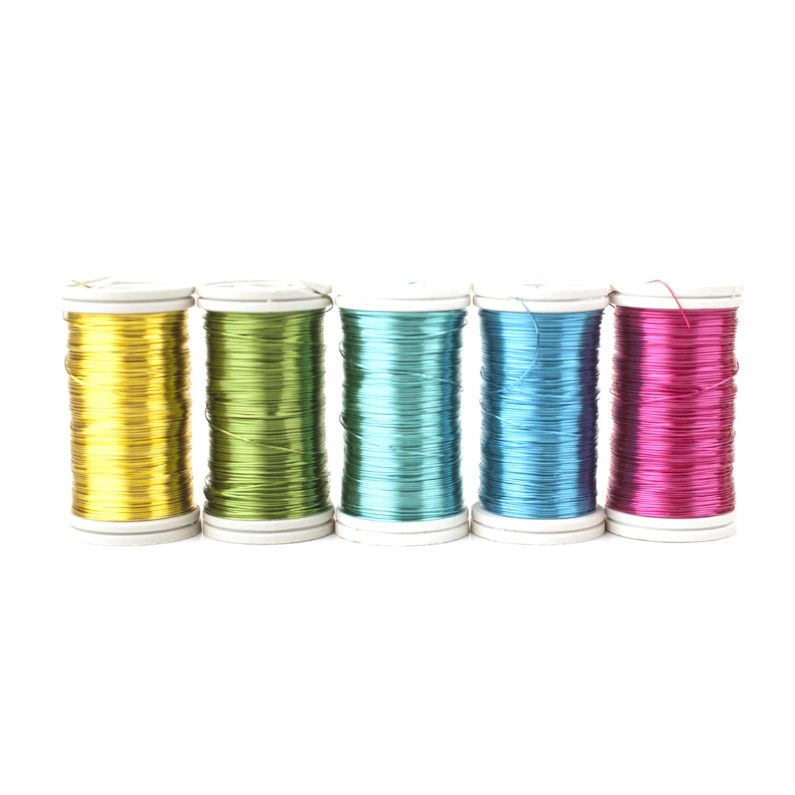 BOLD shades coated copper Wires , 65 feet spools, limited stock - Yooladesign
