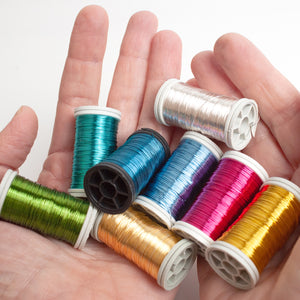 NEW shades coated copper Wires , 65 feet spools, limited stock of each color ! - Yooladesign