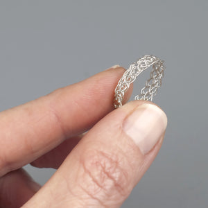 Thin Silver Ring - Yooladesign