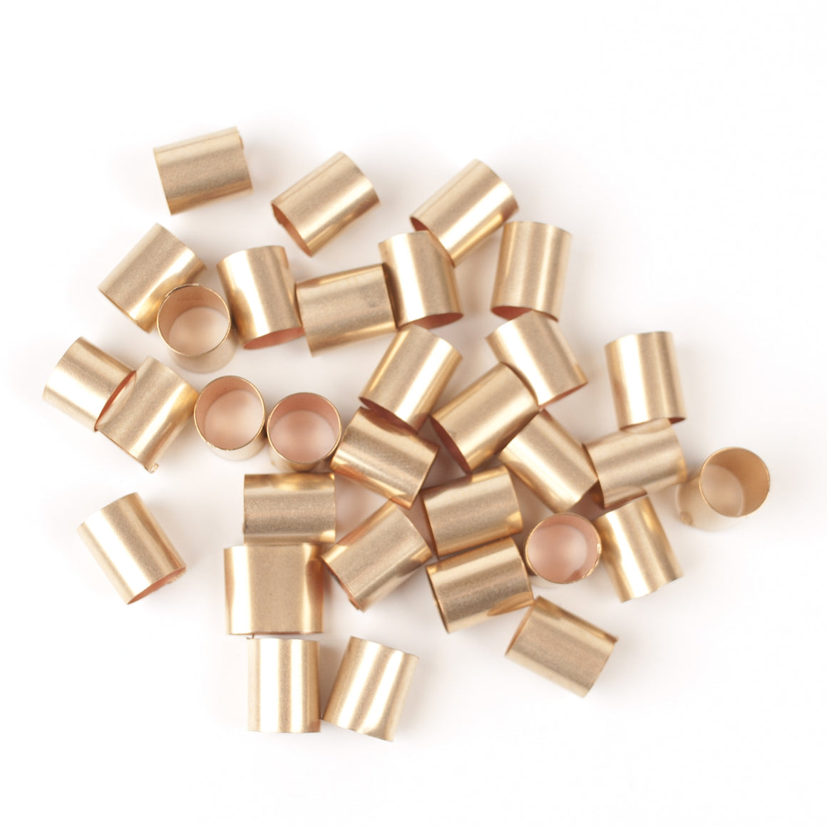 Gold filled tube bead - Yooladesign