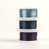 Premium Craft Wire, Pick your jewelry wired colors, Extra long 3 spools 120 feet each - Yooladesign