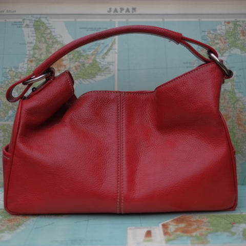 Tods Handbag in Red leather