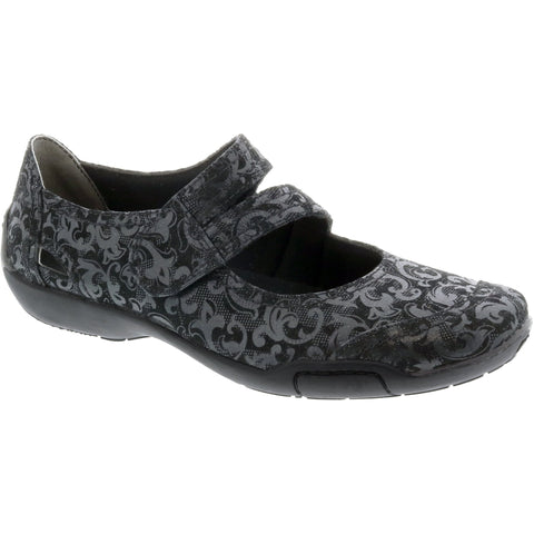 Chelsea Black Jacquard Mary Jane