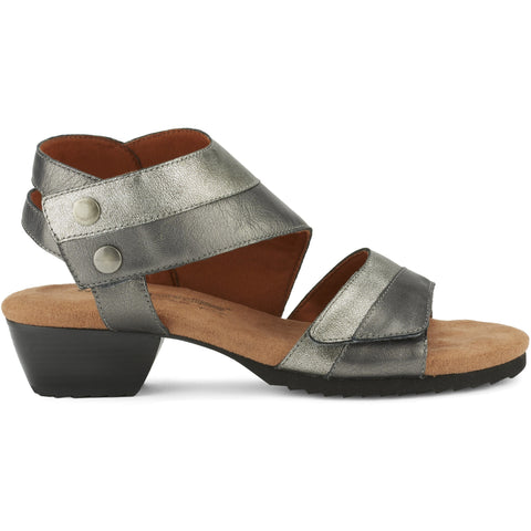 Calista Pewter Sandals