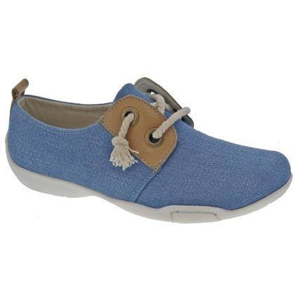 Calypso Denim Boating Shoe