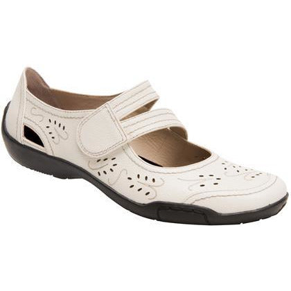Chelsea Winter White Mary Janes