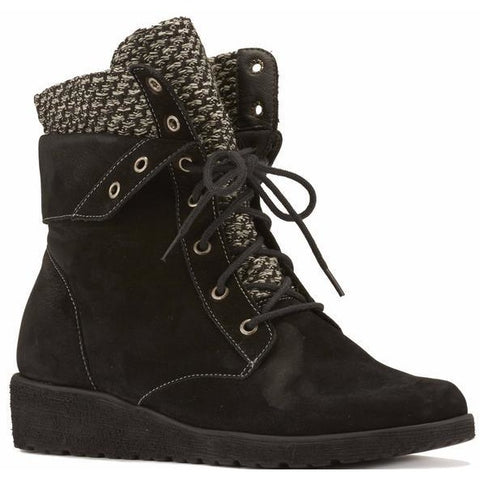Finch Black Ankle Boots