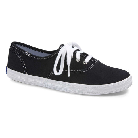 Keds Champion Black Canvas