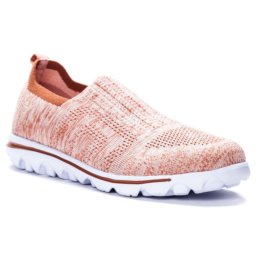 TravelActiv Stretch Rose Slip ons