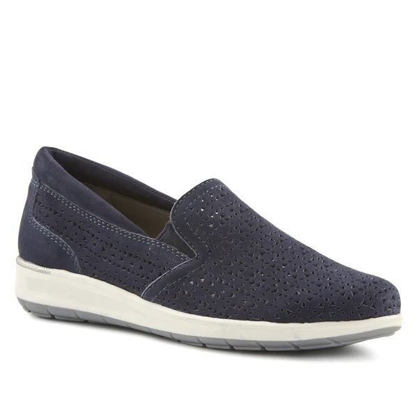Orleans Navy Casual Shoes