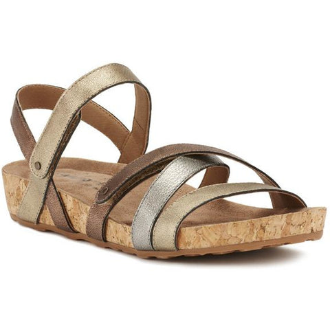 Pool Metallic Sandals