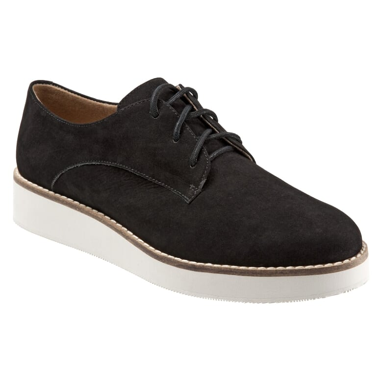 Willis Black Nubuck Oxford