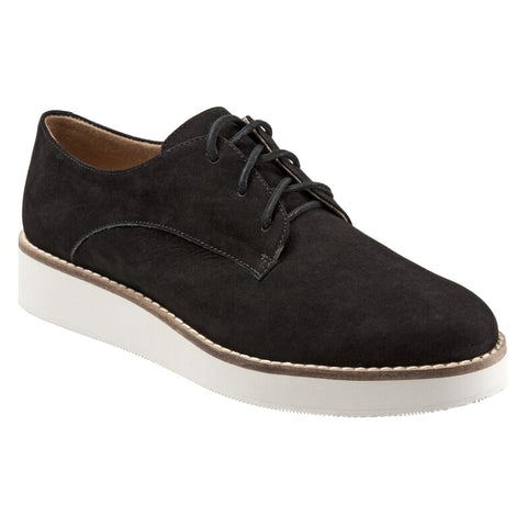Willis Black Suede Oxford