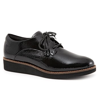 Willis Black Patent Oxford
