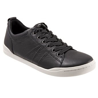 Athens Black Casual Lace Ups