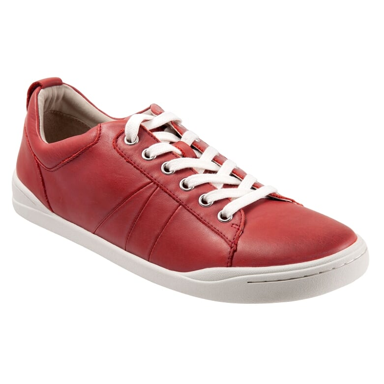 Athens Red Casual Lace Ups