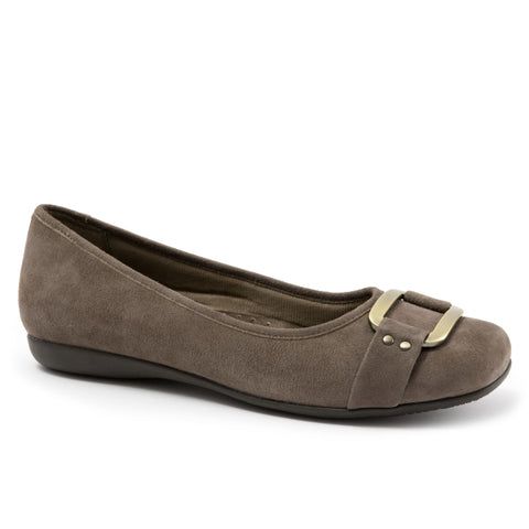 Sizzle Taupe Suede