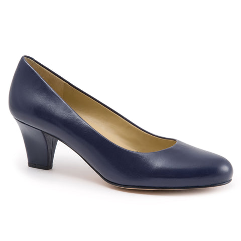 Penelope Blue Leather