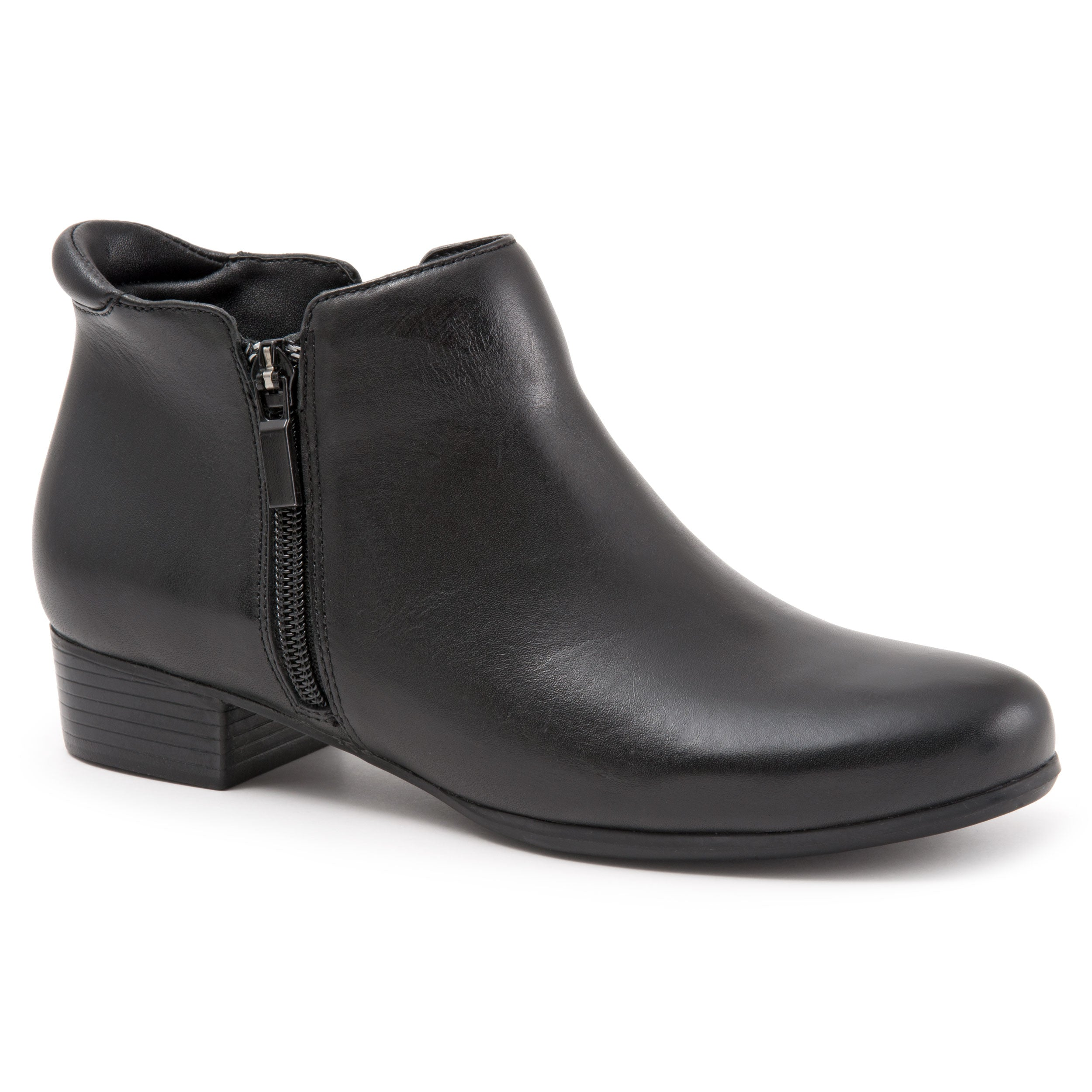 Major Black Ankle Boots