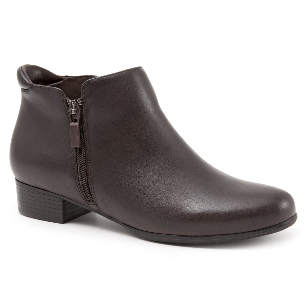 Major Dark Brown Ankle Boots