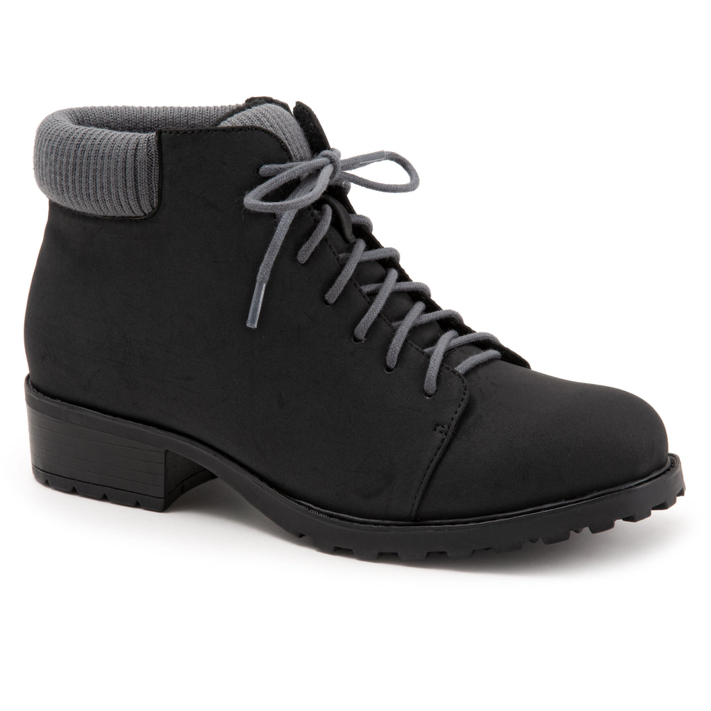 Becky Low Black Ankle Boots