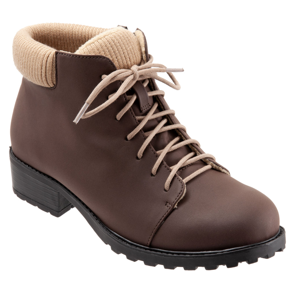 Becky Low Brown Ankle Boots