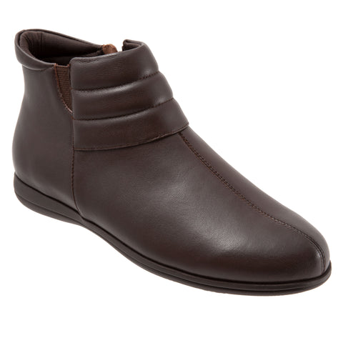 Dory Dark Brown Ankle Boots