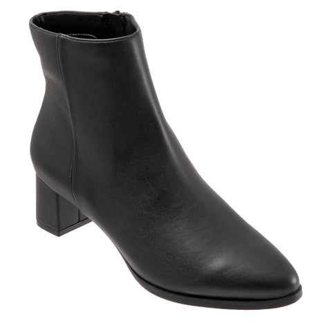 Kim Black Ankle Boots