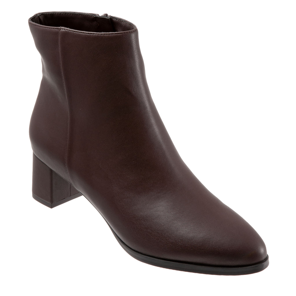Kim Dark Brown Ankle Boots