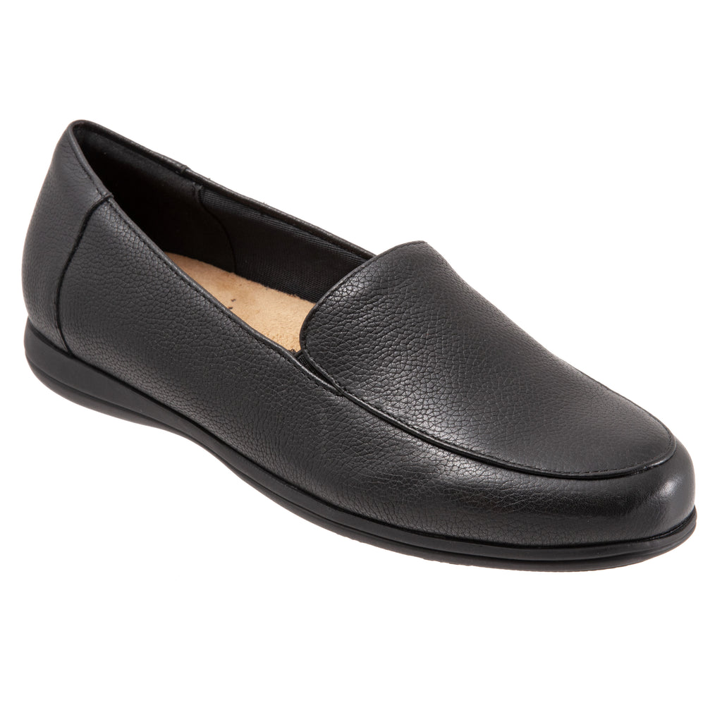 Deanna Black Loafers