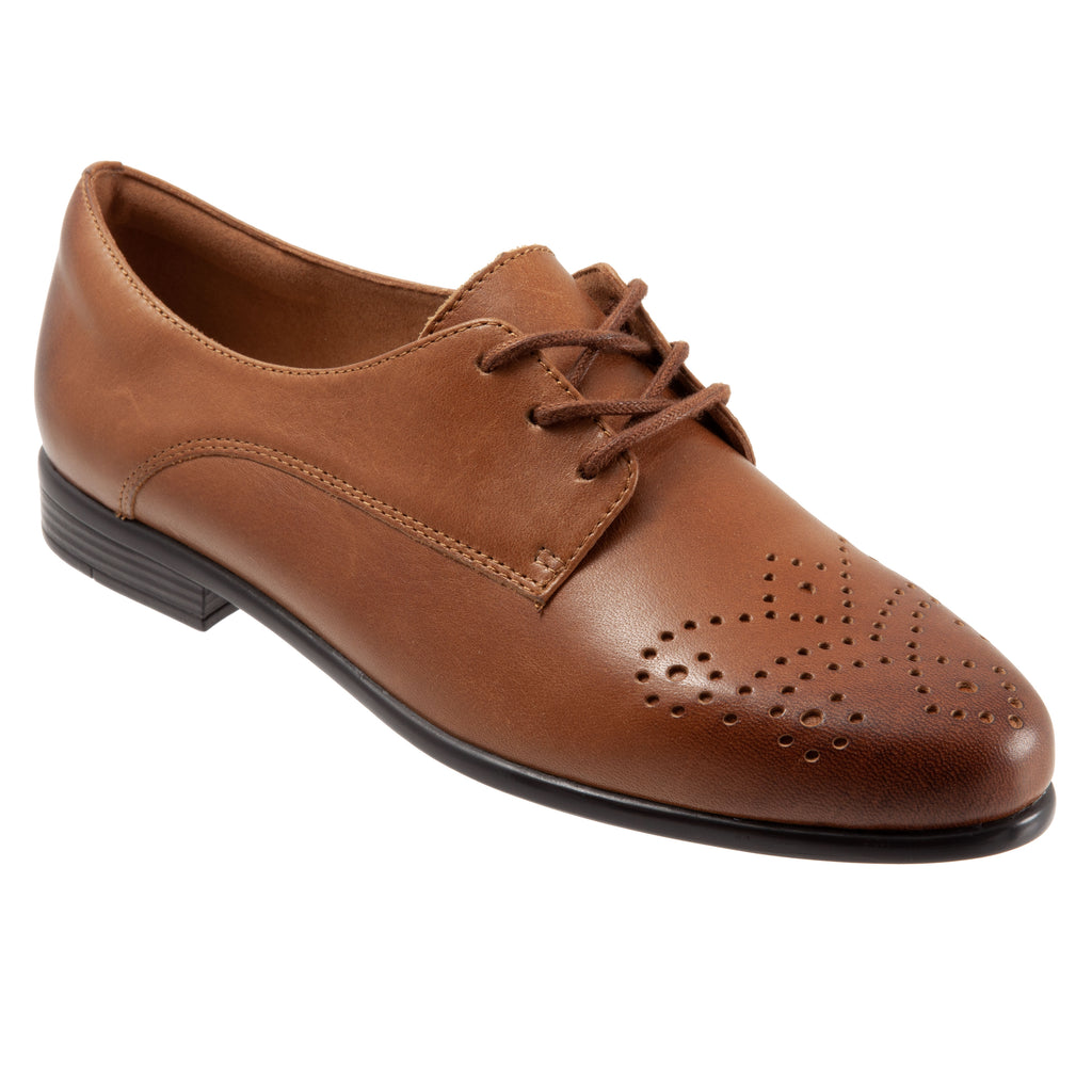 Livvy Luggage Brown Oxford Shoes LIMITED STOCK